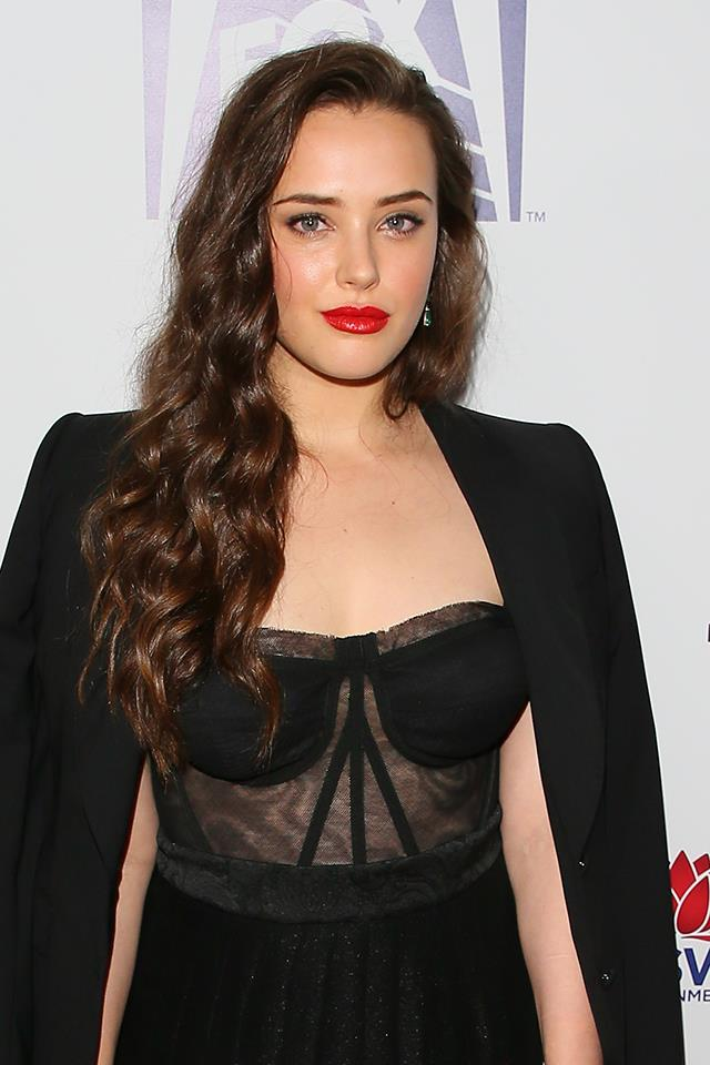 **9. Katherine Langford:** The young Aussie actress was the breakout star of the popular and controversial Netflix series *13 Reasons Why*. She has also recently been nominated for a Golden Globe for her role as Hannah Baker.