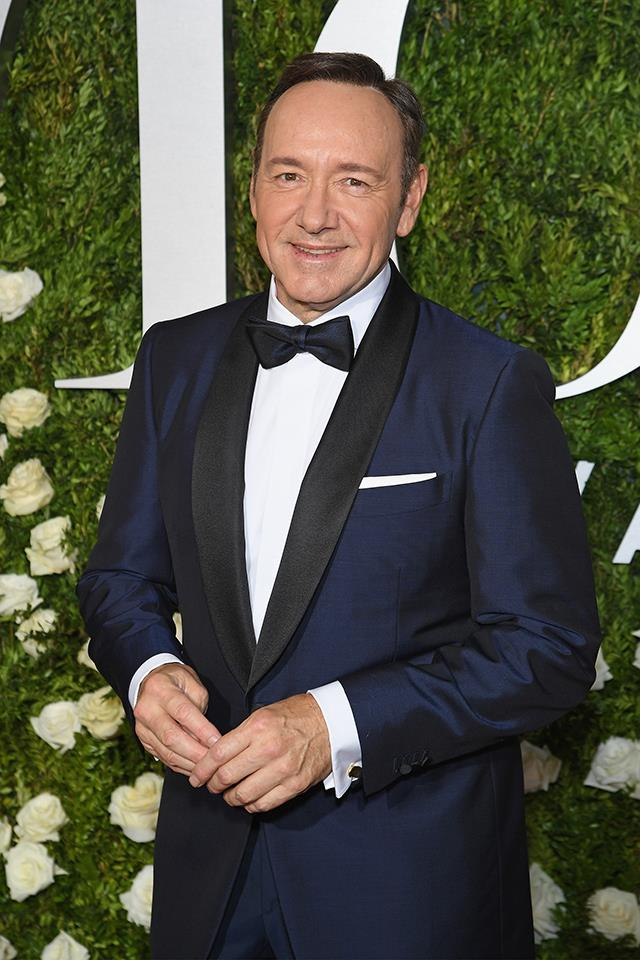 **3. Kevin Spacey:** Searches for the *House of Cards* actor spiked when he found himself at the centre of multiple sexual misconduct allegations. He also publicly came out as a gay man for the first time.