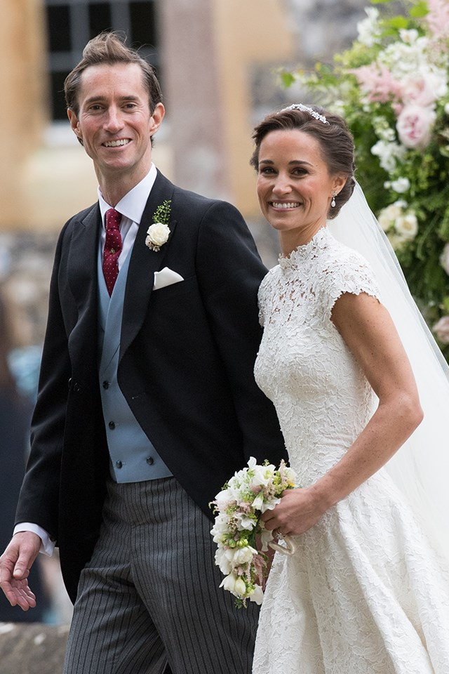 **8. Pippa Middleton:** Pippa, the younger sister of Kate Middleton, hit peak search in May, when she married James Matthews.