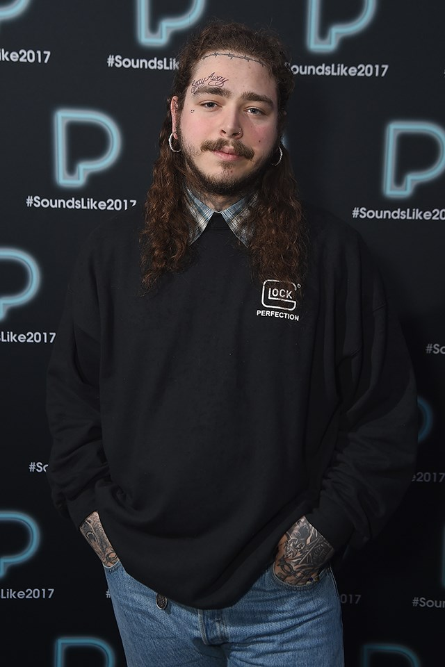 "**7. Post Malone:** American rapper Post Malone released the song ""Rockstar"" this year, and it seems like everyone wanted to know the lyrics."