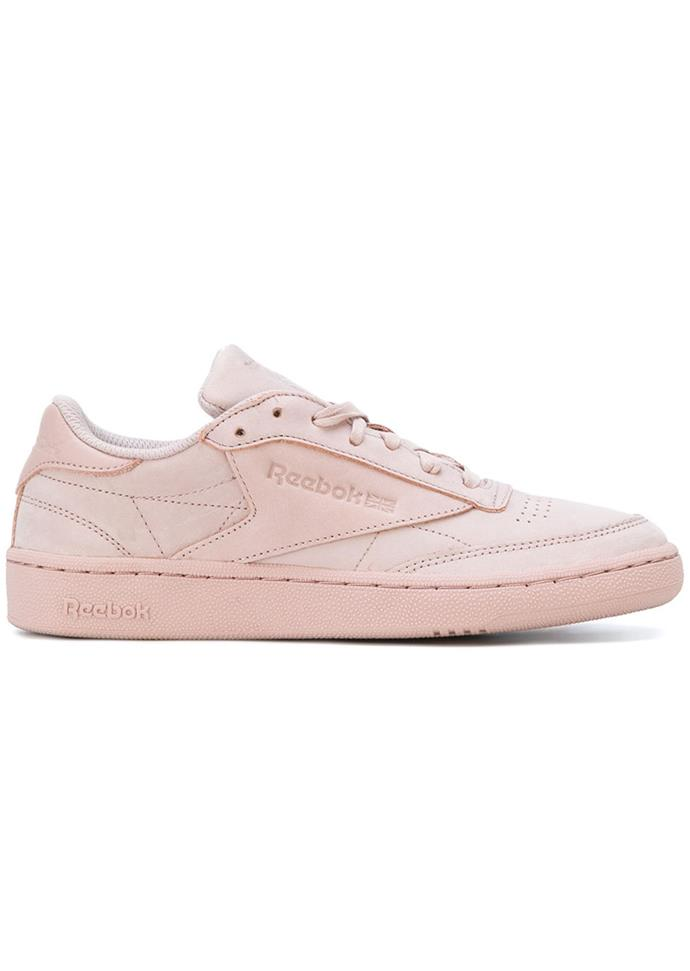 "Sneakers, $113, Reebok at [Farfetch](https://www.farfetch.com/au/shopping/women/reebok-stitch-detailed-sneakers-item-12495692.aspx?storeid=10267&from=listing|target=""_blank"")"