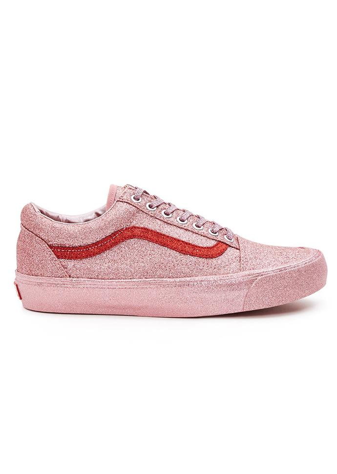 "Sneakers, $152, Vans x Opening Ceremony at [Opening Ceremony](https://www.openingceremony.com/sneakers/vans-for-opening-ceremony/glitter-og-old-skool-lx-sneaker-ST200997.html|target=""_blank"")"