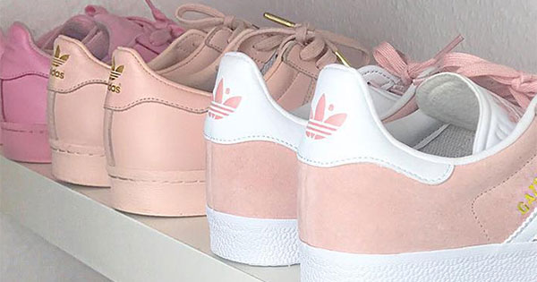 Neutral, Blush and Pink Toned Sneakers