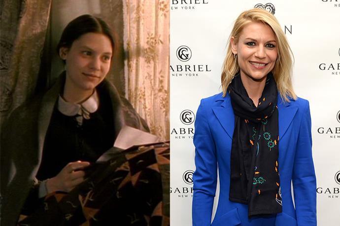 **Who:** Elizabeth 'Beth' March, the shy, sweet third sister who sadly contracted scarlet fever at age 14, and died four years later. <br><br> **Played by:** Claire Danes. <br><br> **Where is she now?** *Little Women* was Danes' first film! Danes is now married to Hugh Dancy and has one son with him. She's been in a heap of movies (hello, *Romeo + Juliet*) but most recently has had critical success with the show *Homeland*.
