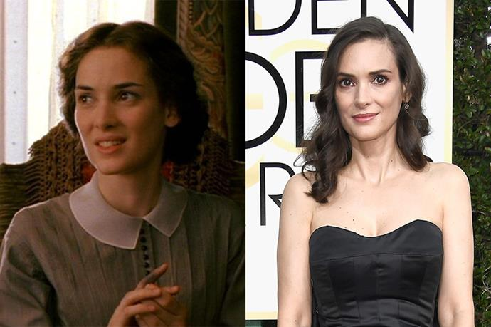 **Who:** Josephine 'Jo' March, the ambitious, tempestuous second daughter who dreams of being a writer. <br><br> **Played by:** Winona Ryder. <br><br> **Where is she now?** Ryder has had a recent wave of success thanks to her role as Joyce Byers in Netflix's *Stranger Things*.