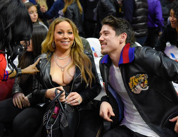 That time Mariah Carey dressed exactly the way you would expect her to at the basketball.