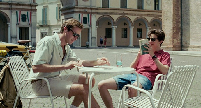 ***Call Me By Your Name*** <br><br> **Release date:** December 26 <br><br> **Synopsis:** Elio ([Timothée Chalamet](https://www.elle.com.au/celebrity/call-me-by-your-name-lead-actor-timothee-chalamet-bio-15250)) lives in the Italian countryside with his parents, and is spending the summer there with his girlfriend, Marzia. Oliver (Armie Hammer), an American student, comes to stay with the family over the break, and the two men start developing an attraction to each other that they're not sure they should act on. <br><br> **Watch if:** You want to see the film people are predicting could win Best Picture at the 2018 Oscars.