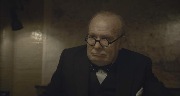***Darkest Hour*** <br><br> **Release date:** January 11 <br><br> **Synopsis:** This British biographical war drama follows the early days of Winston Churchill's (Gary Oldman) career as Prime Minister, focusing on a key moment when he came up against Hitler's army at the beginning of World War II. <br><br> **Watch if:** You're into historical war and political dramas with award-winning performances.