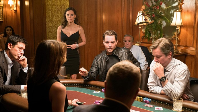 ***Molly's Game*** <br><br> **Release date:** February 1 <br><br> **Synopsis:** *Molly's Game* tells the true story of Molly Bloom (Jessica Chastain), an Olympic-class skier who became an FBI target for running the world's most exclusive underground high-stakes poker empire, involving celebrities, athletes, business tycoons and the Russian mob. <br><br> **Watch if:** You're a fan of Aaron Sorkin films (he wrote the screenplay, and this is his directorial debut) and enjoy a solid crime drama filled with brilliant performances. Also: [Idris Elba](https://www.elle.com.au/celebrity/idris-elbas-hottest-photos-14587).