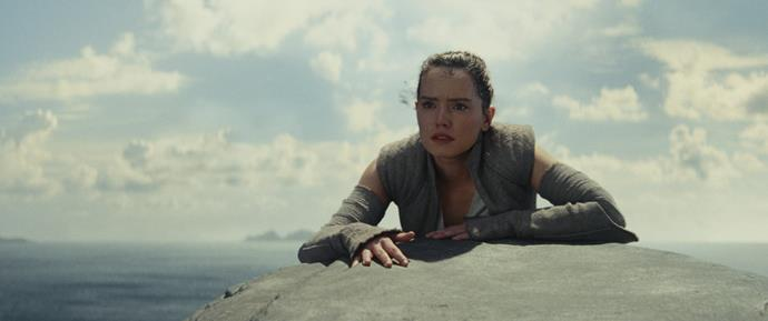 ***Star Wars: The Last Jedi*** <br><br> **Release date:** December 14 <br><br> **Synopsis:** Rey (Daisy Ridley) develops her abilities under the guidance of Luke Skywalker (Mark Hamill), her mentor, while the Resistance prepares to battle the First Order. <br><br> **Watch if:** You're a *Star Wars* buff, obviously. It's really good. Also, everyone has suddenly become thirsty for Kylo Ren thanks to this movie, so it's worth checking out for Adam Driver.