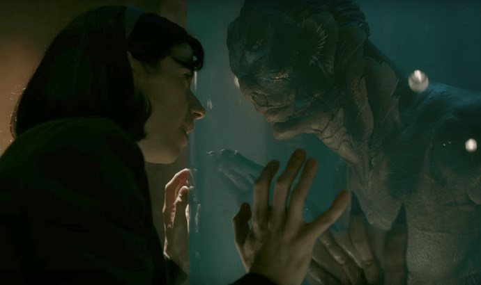***The Shape of Water*** <br><br> **Release date:** January 18 <br><br> **Synopsis:** Elisa (Sally Hawkins), a mute woman who works as a cleaner at a high-security government laboratory in the 1960s, comes across the lab's classified secret: a mysterious creature from South America that lives in a water tank. She develops a bond with the creature, even though the lab's fate for it is not promising. <br><br> **Watch if:** You loved any of director Guillermo del Toro's other films (including *Pan's Labyrinth* and *Hellboy*). *The Shape of Water* is also leading the Golden Globe nominations—up for seven awards in total—and is set to be an awards season favourite.