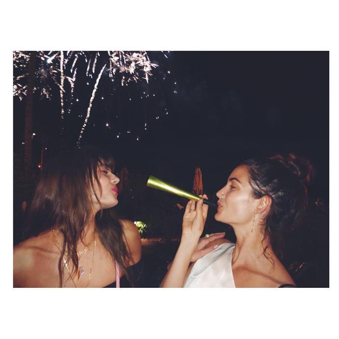 "Taylor Hill and Lily Aldridge<br><br>  Instagram: [@lilyaldridge](https://www.instagram.com/alessandraambrosio/ target=""_blank"" rel=""nofollow"")"
