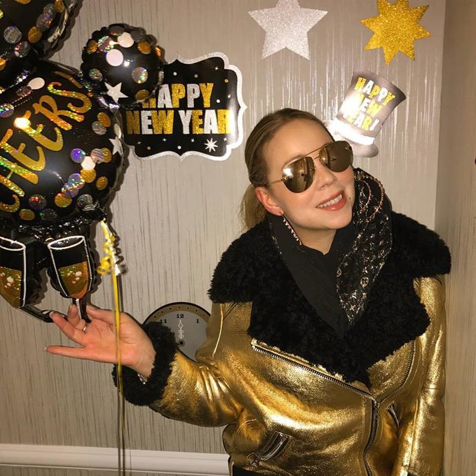 "Mariah Carey<br><br>  Instagram: [@mariahcarey](https://www.instagram.com/mariahcarey/ target=""_blank"" rel=""nofollow"")"