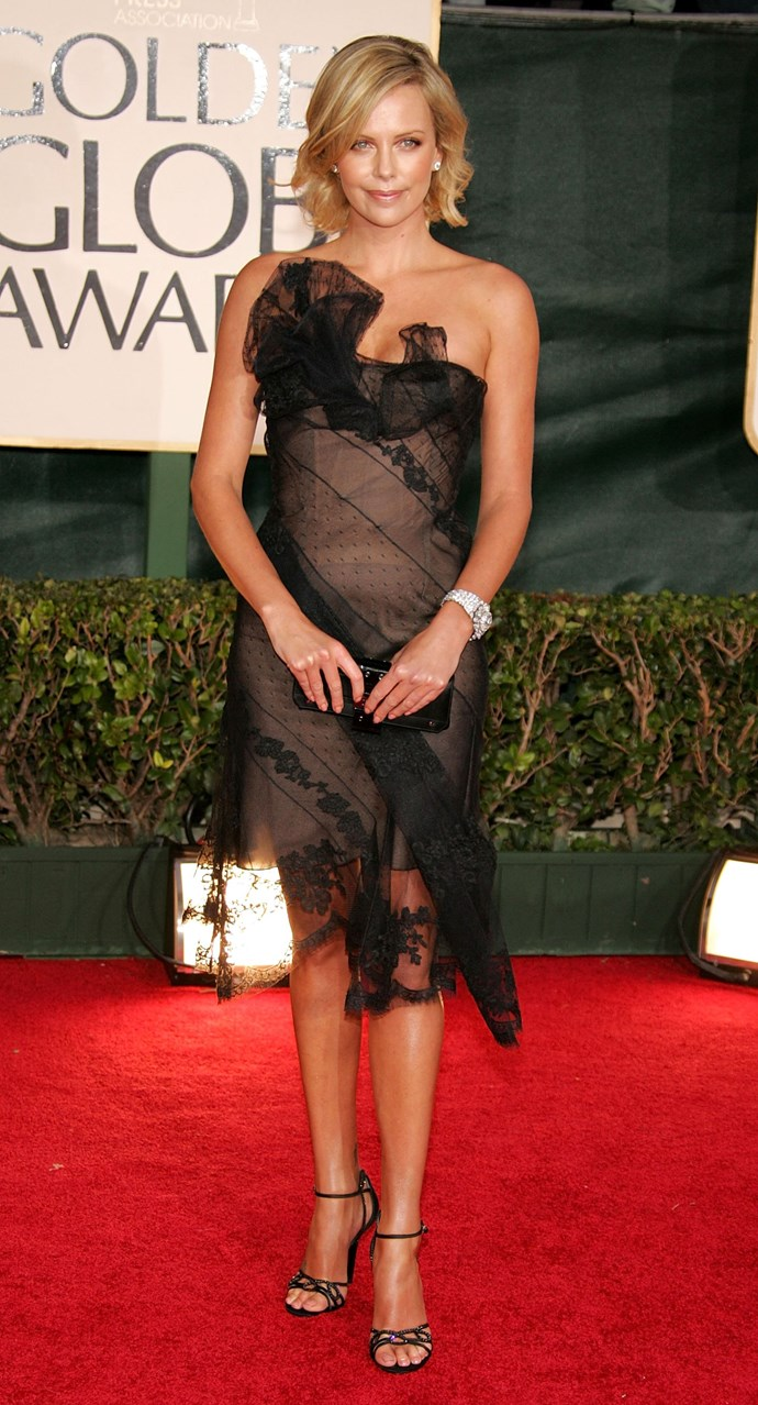 Charlize Theron, 2006.