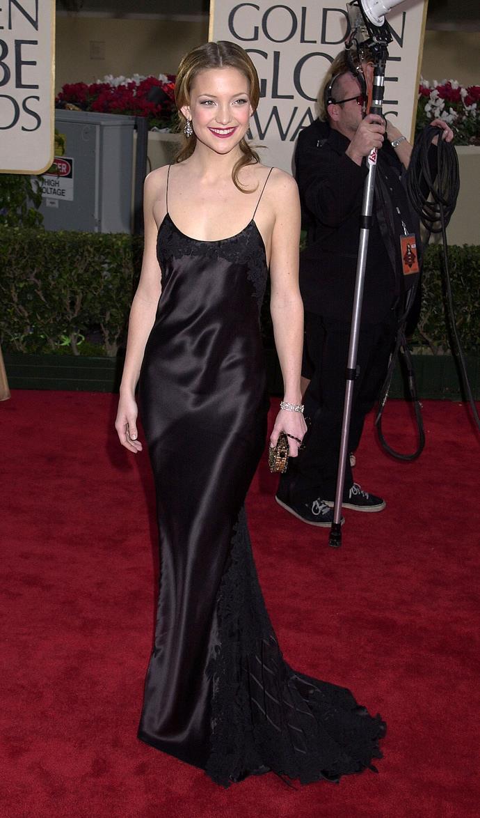 Kate Hudson, 2001.