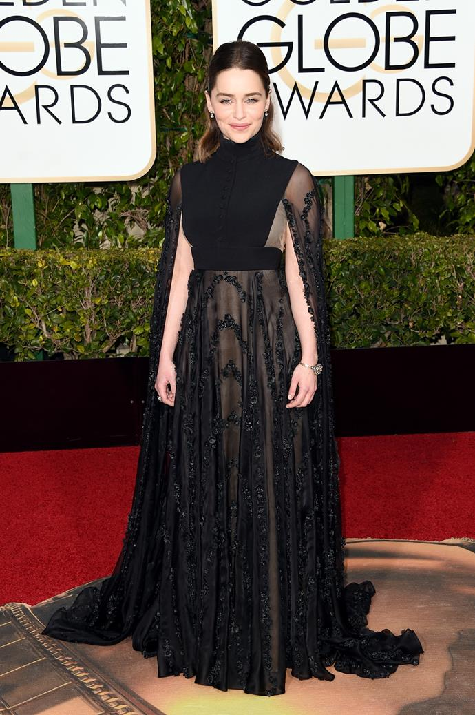 Emilia Clarke, 2016.