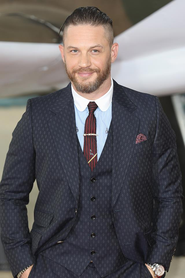 Tom Hardy is actually… **Edward Thomas Hardy**.