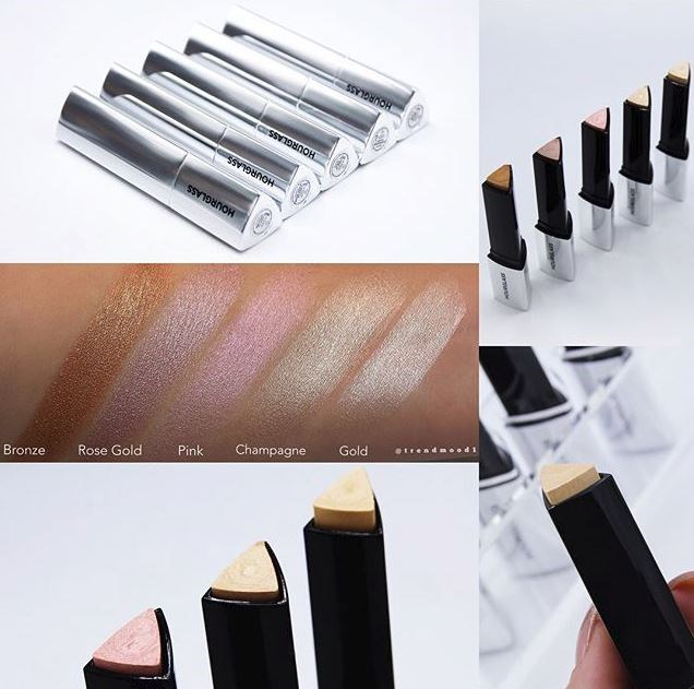 "**HOURGLASS** <br><br> Vanish Flash Highlighter Stick <br><br> In the same formula and packaging as the brand's Vanish Seamless Finish Foundation Stick, Hourglass is releasing creamy highlighter sticks that will give you a seamless and lustrous highlight to the skin. The sticks come in five different shades and can be blended together with your foundation or layered underneath a powder formula for a stronger effect.  <br><br>	 **Release date:** To be announced. <br><br> Image: [@trendmood1](https://www.instagram.com/trendmood1/?hl=en|target=""_blank"")"