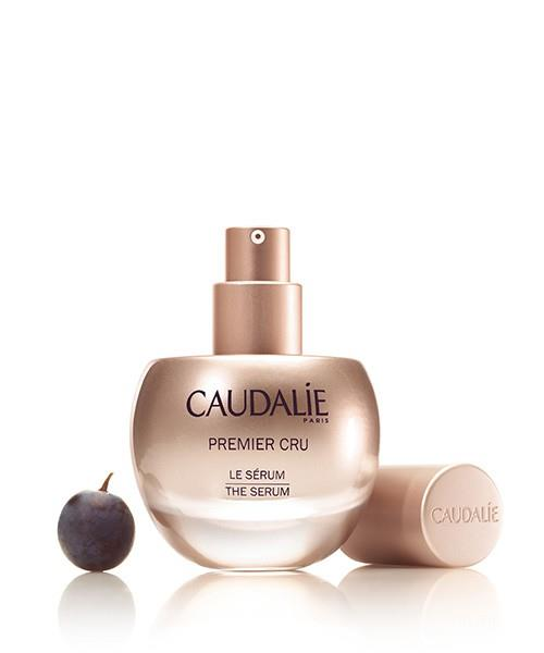 **CAUDALIE** <br><br> Premier Cru The Serum <br><br> Caudalíe has collaborated with Harvard Medical School to develop a special complex that revs up the metabolism of skin cells. Including the brand's trademark Vine Resveratrol, the serum acts as an efficacy booster, leaving the skin looking firmer and reducing the appearance of wrinkles. Did we forget to mention it also leaves the skin with a brightened glow? <br><br> **Release date:** To be announced.