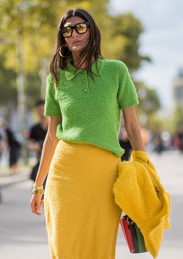 **Warm-Skinned: Lime Green**