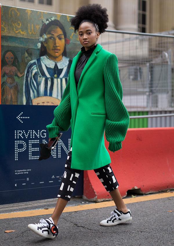**Cool-Skinned: Emerald Green**