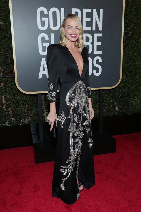 Margot Robbie in Gucci.