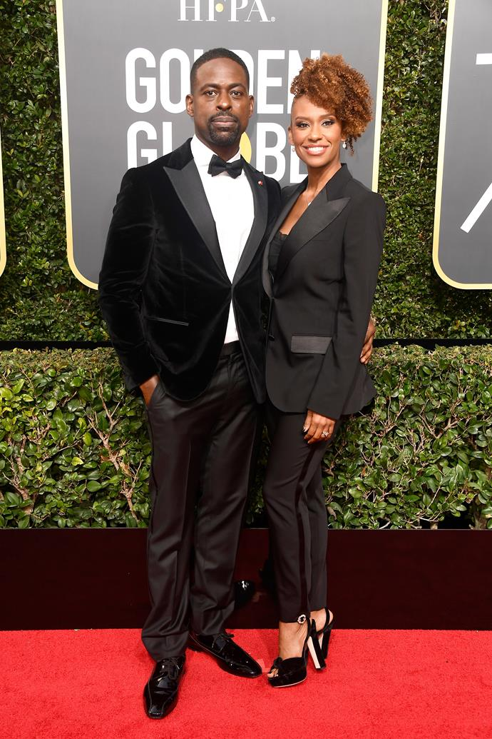 Sterling K. Brown and Ryan Michelle Bathe.
