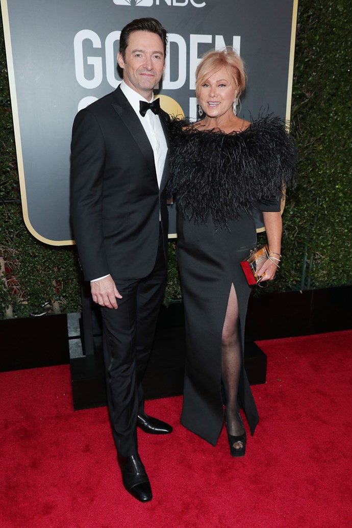 Hugh Jackman and Deborra Lee-Furness.