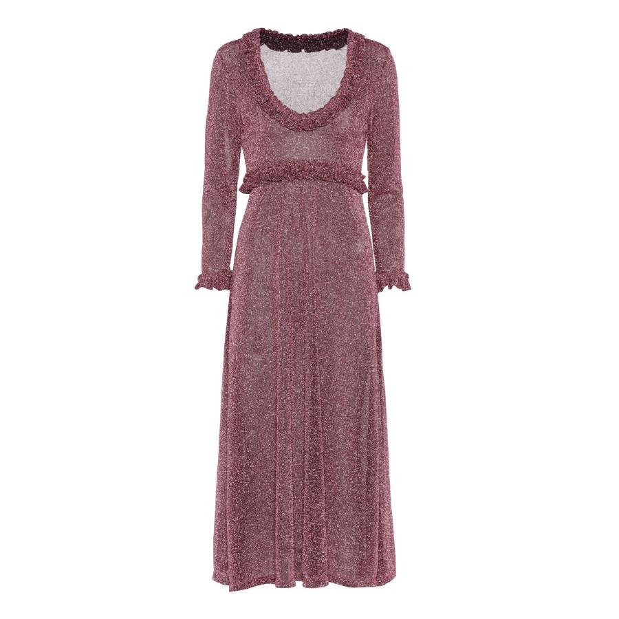 Dress, $464, [ALEXACHUNG at mytheresa.com](https://www.mytheresa.com/en-de/001355-metallic-lame-long-sleeved-dress-800727.html?catref=category|target=