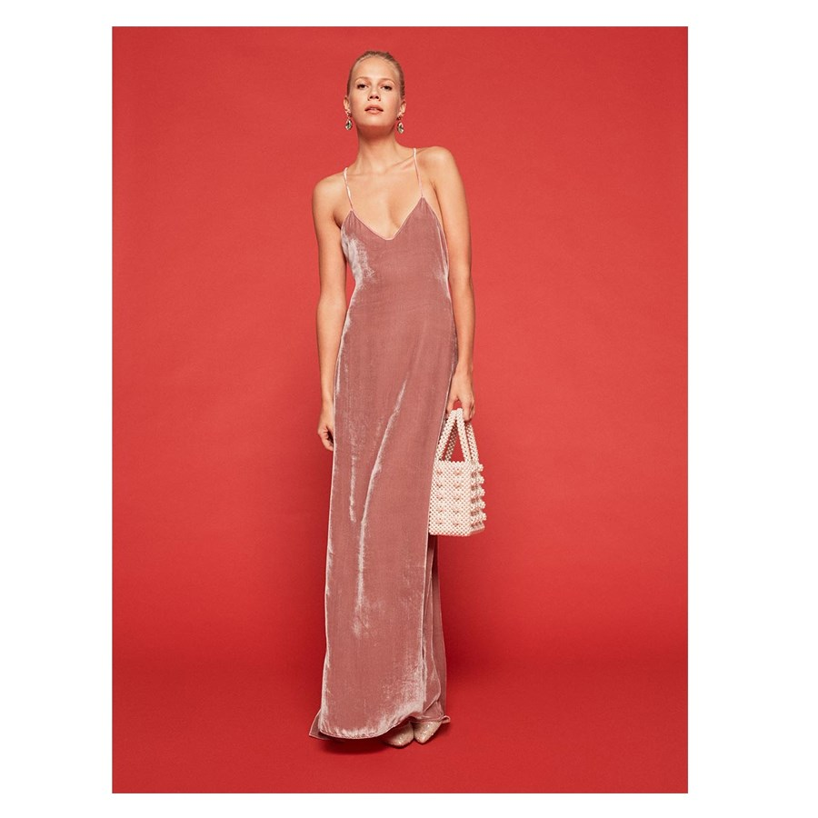 Dress, $496, [Reformation](https://www.thereformation.com/products/rimini-dress-blush|target=