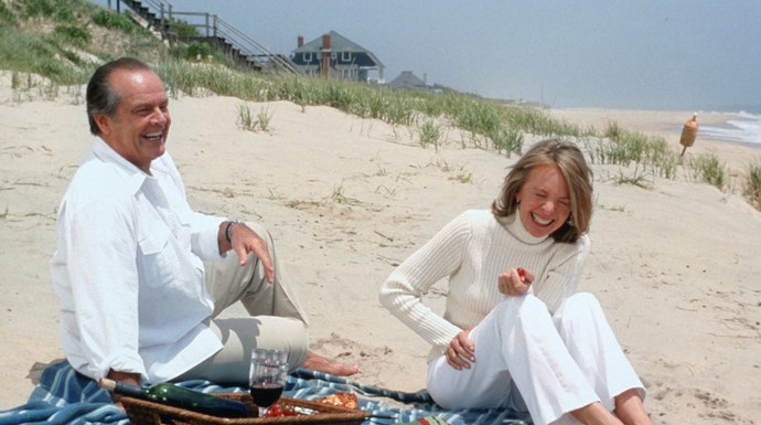 **Diane Keaton and Jack Nicholson, *Something's Gotta Give*** <br><br> In her 2011 memoir *Then Again*, Keaton wrote that she didn't get a back-end (a deal where actors lower their salaries to get a percentage of box office grosses) for the 2003 comedy *Something's Gotta Give*, while Nicholson did, and for a smaller role. When Nicholson heard about this, he wrote Keaton a cheque from his earnings.