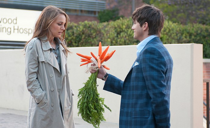 """**Natalie Portman and Ashton Kutcher, *No Strings Attached*** <br><br> Portman and Kutcher played casual lovers in the 2011 rom-com *No Strings Attached*, so they had equal screen time. In an [interview in 2017](https://www.cosmopolitan.com.au/celebrity/natalie-portman-ashton-kutcher-no-strings-attached-pay-disparity-19909