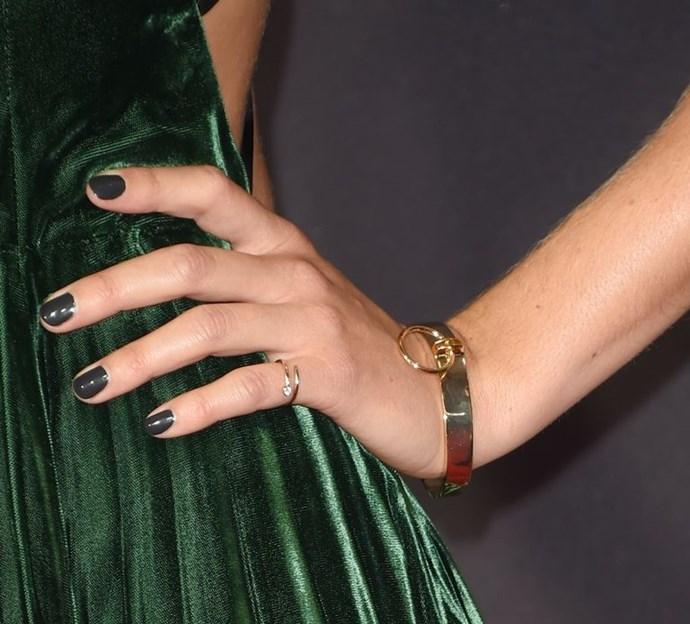 Shaileen Woodley wears Shiffon to the 2017 Emmy Awards