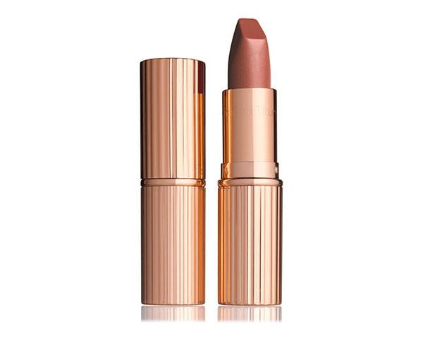 """**Charlotte Tilbury Matte Revolution Lipstick in Very Victoria, $49 at [Charlotte Tilbury](http://www.charlottetilbury.com/au/matte-revolution-very-victoria.html