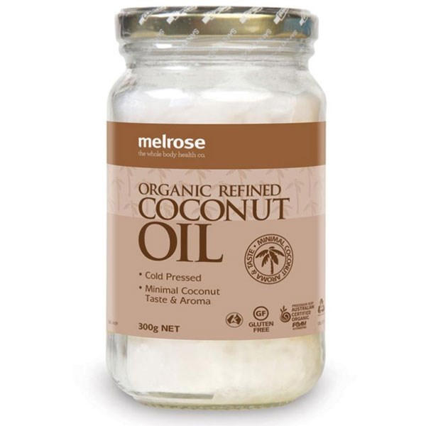 """**Melrose Organic Refined Coconut Oil, $5.95 at [Chemist Warehouse](http://www.chemistwarehouse.com.au/buy/66265/Melrose-Organic-Refined-Coconut-Oil-300g