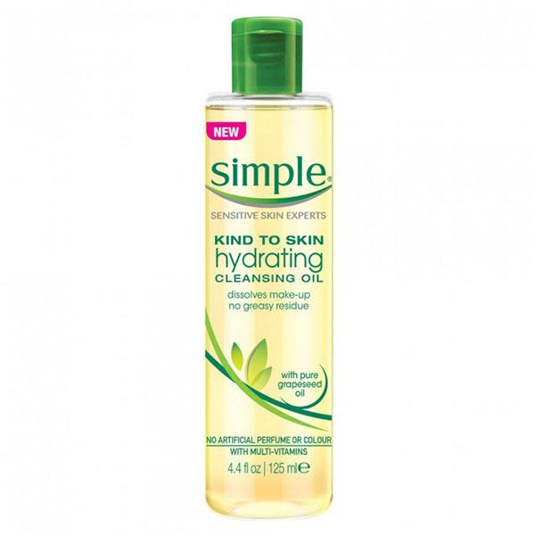 "**Simple Kind To Skin Hydrating Cleansing Oil, $9.99 at [Priceline](https://www.priceline.com.au/simple-kind-to-skin-hydrating-cleansing-oil-125-ml|target=""_blank"").** <br><br> Cleansing oils are generally used as part of a two-step [double cleansing routine](https://www.cosmopolitan.com.au/beauty/why-you-should-be-double-cleansing-18861