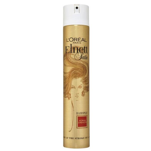 "**L'Oréal Paris Elnett Satin Hairspray, $10.95 at [Chemist Warehouse](http://www.chemistwarehouse.com.au/buy/63203/L-Oreal-Elnett-Normal-Strength-Hair-Spray-400ml|target=""_blank"").** <br><br> This famous formula is a hairstylist favourite across the globe. L'Oréal Paris Elnett Satin Hairspray holds hair just as well as any other hairspray but completely disappears at the stroke of a brush."