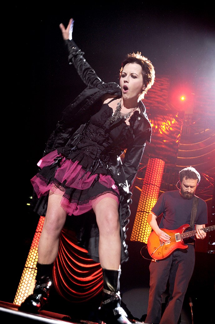 The Cranberries' performance in 2010.