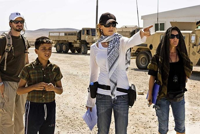 **Kathryn Bigelow** <br><br> Bigelow, whose films include *The Hurt Locker* and *Zero Dark Thirty*, was once married to director James Cameron. They were both nominated for the Best Director Oscar in 2009 (she for *The Hurt Locker*, he for *Avatar*) and she won. She was the only female nominated in her category, and no other woman has been nominated since.