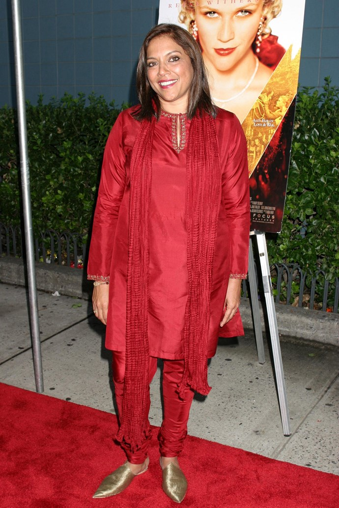 **Mira Nair** <br><br> *Monsoon Wedding*, *Vanity Fair* and *The Reluctant Fundamentalist* are among Indian-born Nair's directing credits.