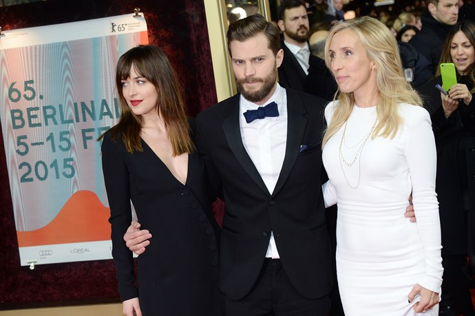 **Sam Taylor-Johnson** <br><br> Taylor-Johnson directed the first *Fifty Shades of Grey* movie but parted ways with production for the sequels. She also directed 2009's *Nowhere Boy*, which starred her partner Aaron Taylor-Johnson.