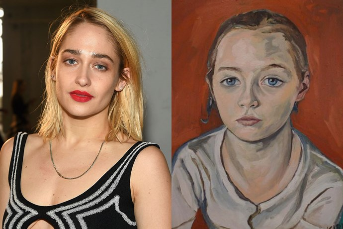"""**Jemima Kirke** <br><br> Jemima Kirke, who stars in the television series *Girls*, graduated from the Rhode Island School of Design in 2008 and majored in portraiture. Her work has been exhibited around New York and her paintings are also illustrated in a catalogue on [Tumblr](http://amenjemima.tumblr.com/artbyjemima 