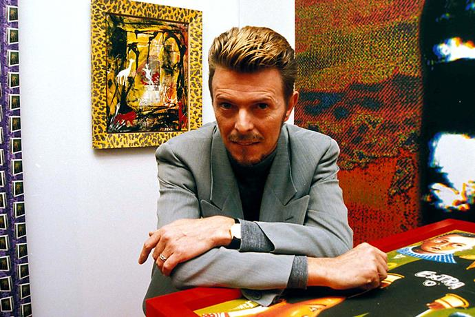 **David Bowie** <br><br> As well as being a highly respected musician, David Bowie was also a painter and artist. The singer had his own art collection that was estimated to be worth over $17 million, however, his personal paintings were auctioned off in 2016 and made an estimated sale total of over $50 million.