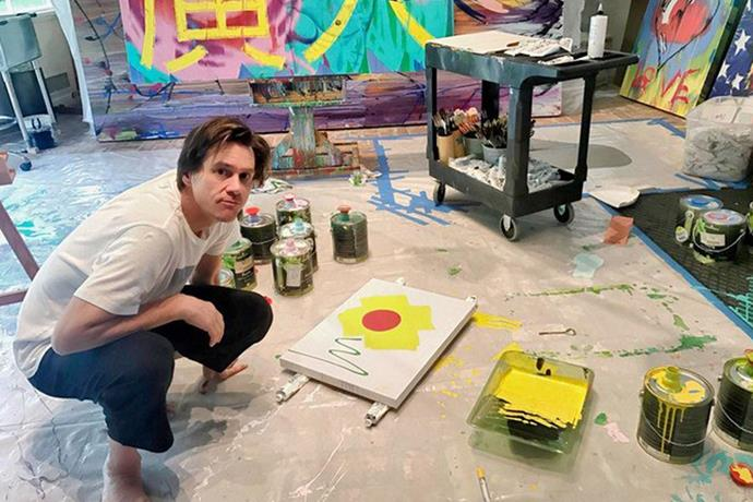 """**Jim Carrey** <br><br> Although Jim Carrey has shown his artworks in exhibitions previously, the comedian only shared his passion with fans after he released a six-minute documentary in his studio. <br><br> """"There's not a day that goes by that I'm not covered in paint or something from doing sculptures,"""" Carrey said in a recent interview with [*W Magazine*](https://www.wmagazine.com/story/jim-carrey-michel-gondry-show-art-exhibit 