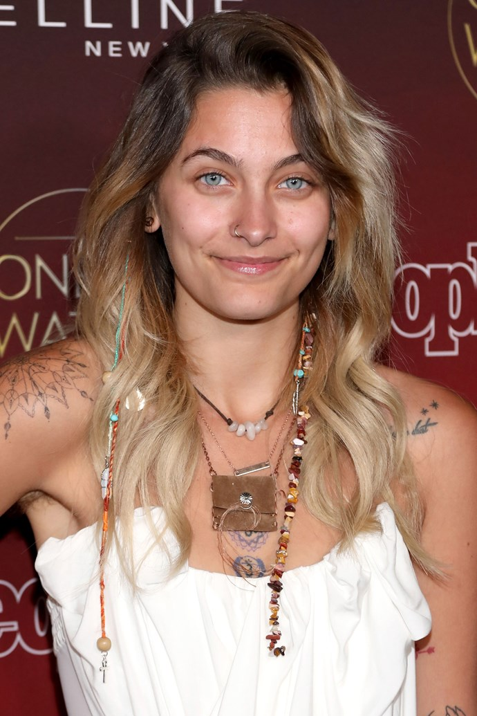 Paris equally shocked and amazed us all with this totally makeup-free look.