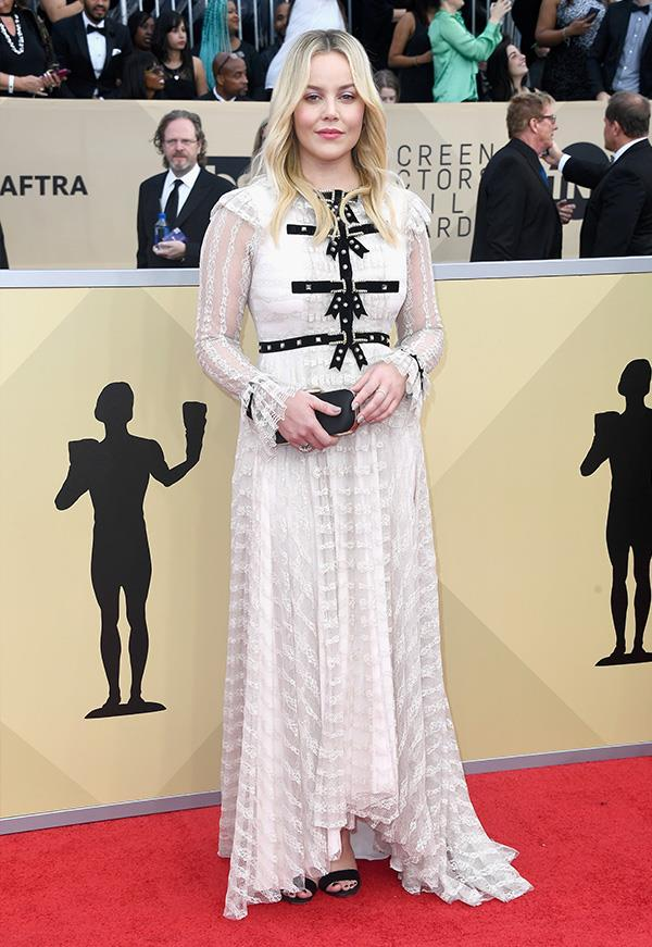 Abbie Cornish at the 2018 SAG Awards.