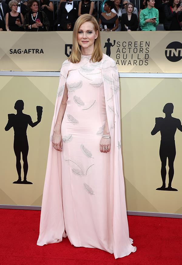 Laura Linney at the 2018 SAG Awards.