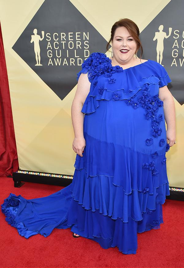 Chrissy Metz at the 2018 SAG Awards.
