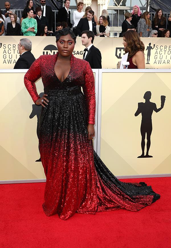 Danielle Brooks at the 2018 SAG Awards.