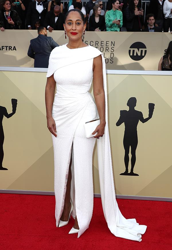 Tracee Ellis Ross at the 2018 SAG Awards.